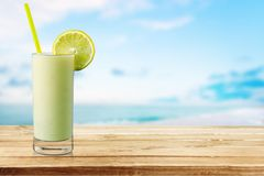Cocktail. Pina colada drink pineapple tropical drink drinking umbrella Stock Photos