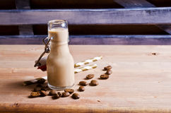 Cocktail of coffee and cream Stock Photos