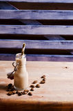Cocktail of coffee and cream Stock Photography