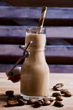 Cocktail of coffee and cream Stock Image