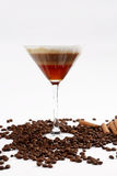 Cocktail with coffee taste Stock Images