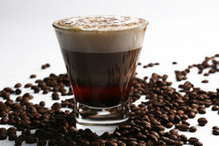 Cocktail with coffee taste Stock Image