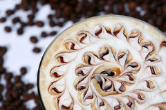 Cocktail with coffee taste Royalty Free Stock Image
