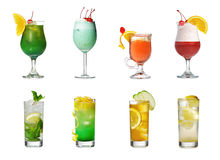 Cocktail Collection Royalty Free Stock Photography