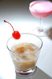 Cocktail collection caramel cocktail Stock Photography