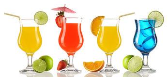 Cocktail collection Royalty Free Stock Image