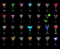 Cocktail collection Royalty Free Stock Photo