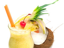 Cocktail collection - Pina Colada Stock Photography