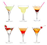Cocktail collection Royalty Free Stock Photos