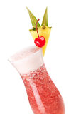 Cocktail collection: Strawberry Pina Colada Stock Image