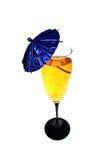 cocktail, colore giallo Immagini Stock