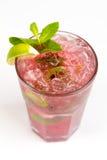 Cocktail com cal Foto de Stock