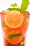 Cocktail com cal Imagens de Stock
