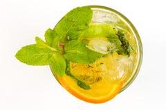 Cocktail com cal Imagem de Stock Royalty Free