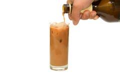 Cocktail com gelo Imagem de Stock