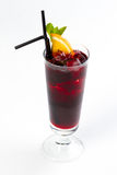 Cocktail com laranja Imagens de Stock