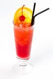 Cocktail com laranja Foto de Stock Royalty Free