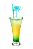 Cocktail com sumo de laranja e hortelã Fotos de Stock