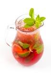 Cocktail con calce Fotografie Stock Libere da Diritti