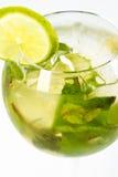 Cocktail con calce Fotografie Stock