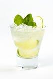 Cocktail con calce Immagini Stock