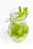 Cocktail con calce Fotografia Stock