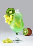 Cocktail con il kiwi Fotografia Stock