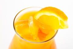 Cocktail con l'arancia Immagine Stock Libera da Diritti