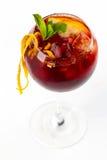Cocktail con l'arancia Fotografie Stock