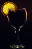 Cocktail conceptual iluminado fotografia de stock