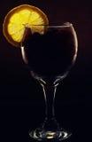 Cocktail concettualmente illuminato Fotografia Stock