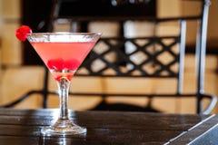 Cocktail cor-de-rosa Foto de Stock Royalty Free