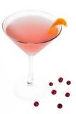 Cocktail cosmopolita Fotografie Stock