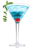 Cocktail cosmopolita del Martini Immagine Stock
