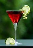Cocktail cosmopolita vermelho Imagens de Stock