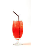 Cocktail. Cosmopolitan cocktail drink isolation on a white Royalty Free Stock Image