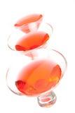 Cocktail cosmopolitas Imagem de Stock