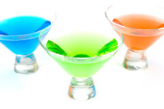 Cocktail cosmopolitas Imagens de Stock Royalty Free