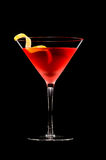 Cocktail cosmopolite images stock
