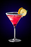 Cocktail cosmopolite Photographie stock libre de droits