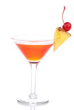 Cocktail cosmopolite de martini Photo libre de droits