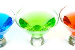 Cocktail cosmopoliti Fotografia Stock Libera da Diritti