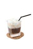 Cocktail crème de lait Images stock