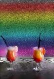 Cocktail cracks Stock Photo