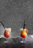 Cocktail cracks Stock Image
