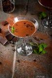 Cocktail crema del caffè immagini stock libere da diritti