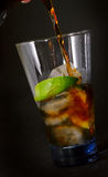Cocktail Cuba Libra Royalty Free Stock Photo