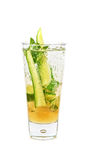 Cocktail with cucumber Royalty Free Stock Photography