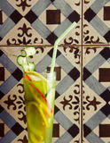Cocktail culinario vegetariano Immagine Stock