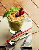 Cocktail culinario vegetariano Immagine Stock Libera da Diritti